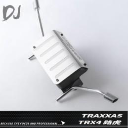 Réservoir métal et sorties d'échappement   pour TRX-4 Bronco Team DC