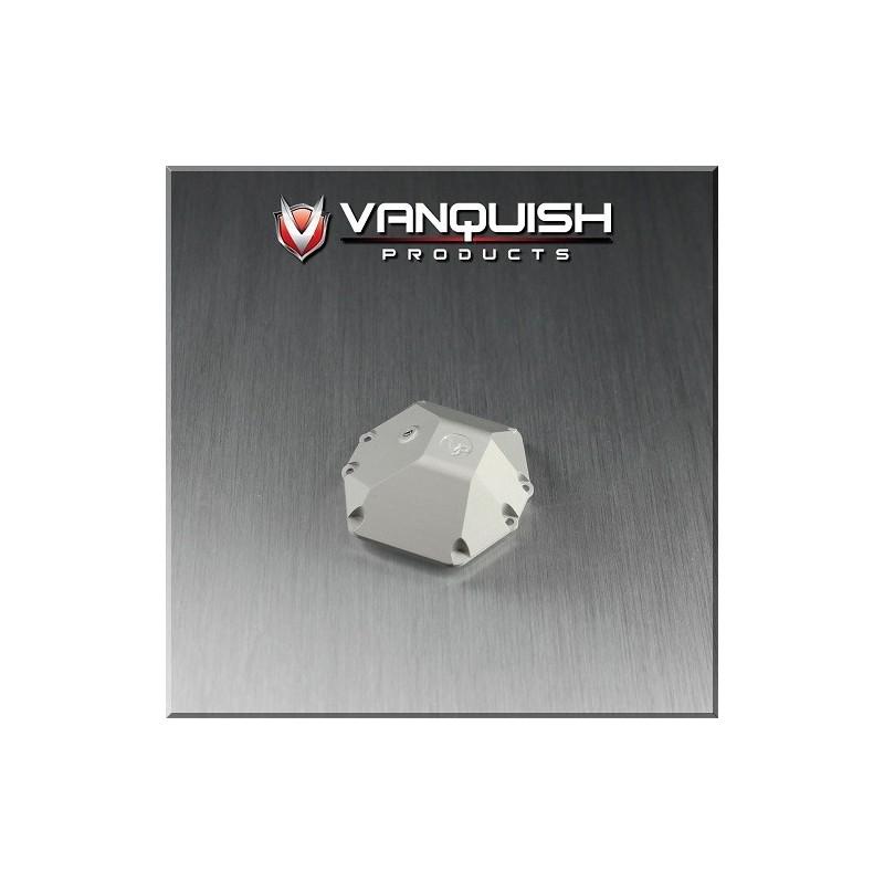 Capot différentiel de pont alu silver pour Axial Wraith