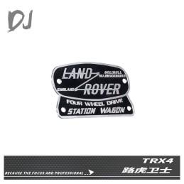 Logo métal Land Rover TRX4 steel sign 3D  Team DC