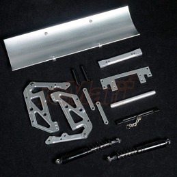 Kit lame de déneigement pour trx-4 / scx10 II aluminium  Xtra Speed