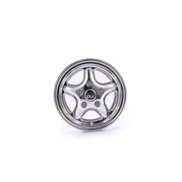 Jante alu Silver beadlock Rc4wd Land Rover Defender Team DC (1)