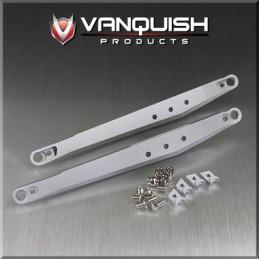 Bras de suspension arrière alu Silver pour Axial Yéti Vanquish
