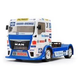 Carrosserie camion Team Hahn Racing Man TGs  TT01 Tamiya - 51606