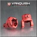 Porte fusée Chubs alu Rouge pour AX10/SCX Vanquish