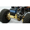 Lest 117gr renfort de chassis / support de servo  pour TRX-4 yeah Racing