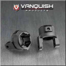 Porte fusée Chubs alu Noir pour AX10/SCX Vanquish