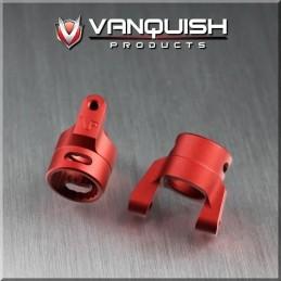 Porte fusée Chubs alu Rouge pour XR10 wraith Vanquish