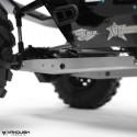 Bras de suspension arrière alu Gris  pour Axial Yéti Vanquish