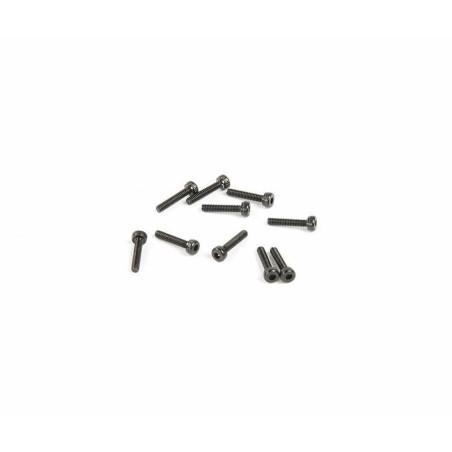 Vis acier noir tete cylindrique M2x10 Axial