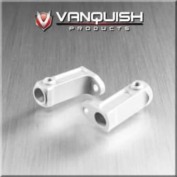 Support marche pieds alu Silver  pour Scx10 axial par Vanquish