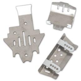 Kit complet de plaque de protection inférieur pour TRX4 Hobbytech